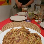 Czech cooking session - Potato pancake and beer