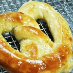 Warm and buttery hand rolled pretzel goodness