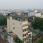 view of Hanoi at breakfast