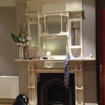 A rather charming fireplace