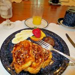 Cajun French toast breakfast!