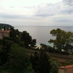 Breathtaking view from Le Golfe Bleu Roquebrune Cap Martin