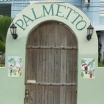 Gate to Palmetto Guesthouse
