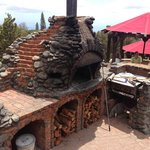 Wood Fire Brick Pizza Oven