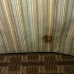Stain on bedskirt
