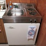 Combo fridge/stove/sink