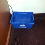Recycle Bin In Room. What a Great Idea!