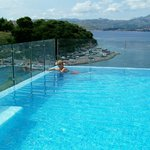 Rooftop View / Pool area hotel Cavtat