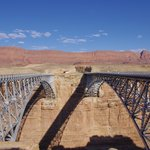 Marble Canyon Navajo bridge