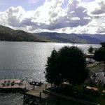 Lake Chelan with one of many Campbell's sunning areas