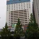 The hotel seen from the Government complex side