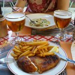 Not so tasty fish and chips and passable risotto at L'esprit Bistrot