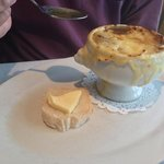 French Onion soup. Delightful!