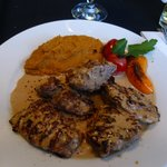 Pork Loin Fillets with sweet potato