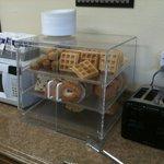 Breakfast breads and microwave