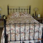 The Antique Brass Bed