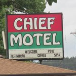 Chief Motel Foto