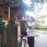 Balinese Daily Offering