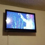new televisions, but poor reception