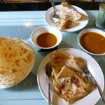 Yummo roti canai for breakfast!!!!!!!!!