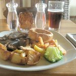 Sunday Roast Rib of Beef - substantial and perfectly cooked