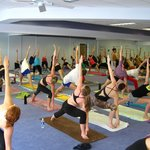 Wilmington Bikram Yoga Class-Triangle