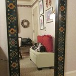 Beautiful mirror in room