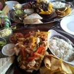 The fajita's we ordered!