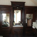 Gorgeous antique pieces in the room