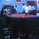 Carribean Poker Tables, Roulette Tables and Blackjack Tables