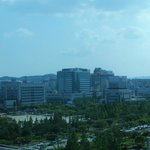 view of Daejeon Government complex from the room