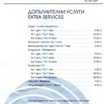Extra Services and Fines
