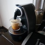There was also complimentary nescafe coffee in the room