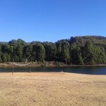 Voley Ball Pitch and Lake