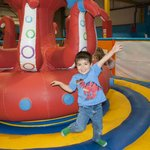 Giant Octopus in Toddler Area