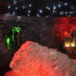 Visit the underground fairy and leprechaun cavern.