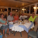 Dining at La Tuiliere Restaurant