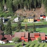 Looking down into the real Flam Village