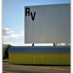 RV Park Drive In Screen