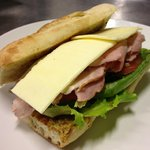 Apple Wood Smoked Ham And Cheese Sandwich