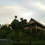 rainbow over Yarina lodge!