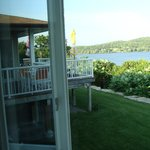 View of the B&B deck and of Picton Bay from the Bayview Roo,