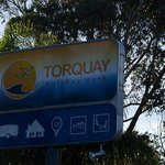 Torquay Holiday Park road sign