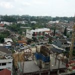 View from room, with construction of Galeri Ciumbuleit-2 at foreground