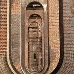 Inside the arches of the Ouse Valley Viaduct