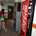 the ice and soda machines