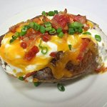 LOADED BAKED POTATO!