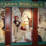 Tapestry of Lawn Bowling