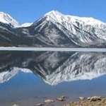 Just one view of Twin Lakes, Colorado