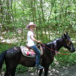 Black Beauty was perfect for Ava (10) and first time rider.  She was easy to control